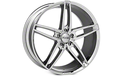 Chrome Foose Stallion Wheels 2005-2009