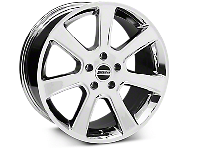Chrome S197 Saleen Style Wheels 2005-2009