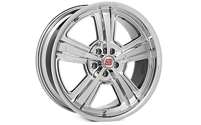 Chrome Shelby CS69 Wheels 2005-2009