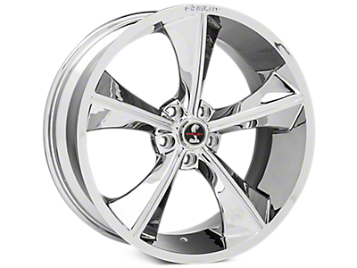 Chrome Shelby CS70 Wheels<br />('05-'09 Mustang)