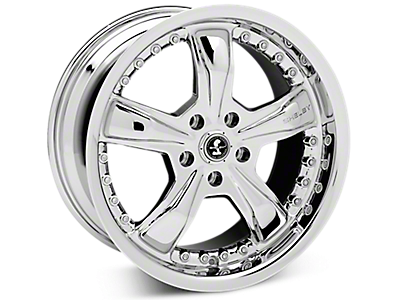 Chrome Shelby Razor Wheels<br />('05-'09 Mustang)