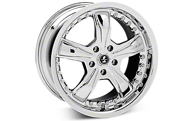 Chrome Shelby Razor Wheels 2005-2009