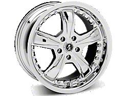 Chrome Shelby Razor Wheels<br />('15-'21 Mustang)