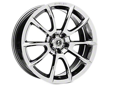 Chrome Shelby Super Snake Wheels<br />('15-'20 Mustang)