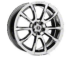 Chrome Shelby Super Snake Wheels<br />('05-'09 Mustang)