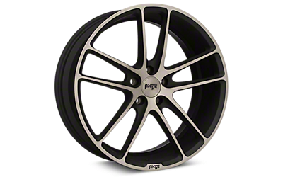Double Dark Niche Enyo Wheels 2005-2009