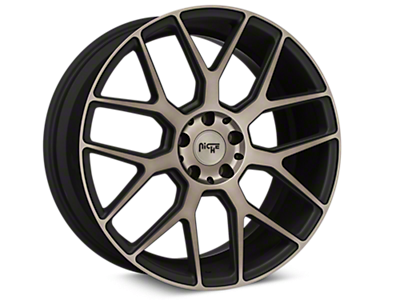 Double Dark Niche Intake Wheels<br />('15-'20 Mustang)