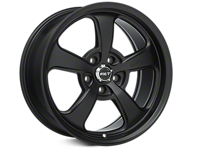 Flat Black Mickey Thompson Street Comp SC-5 Wheels<br />('15-'20 Mustang)