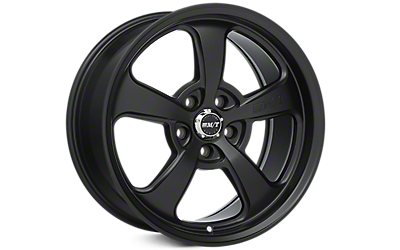Flat Black Mickey Thompson Street Comp SC-5 Wheels 2005-2009