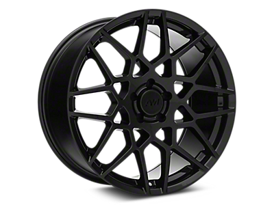 Gloss Black 2013 Style GT500 Wheels<br />('05-'09 Mustang)