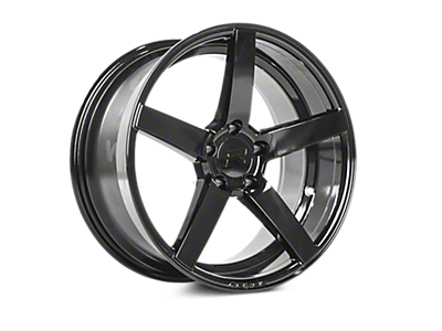 Gloss Black Rovos Durban Wheels<br />('15-'20 Mustang)