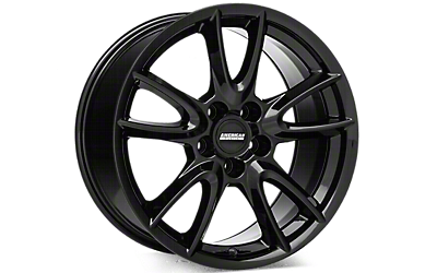 Gloss Black Track Pack Style Wheels 2005-2009