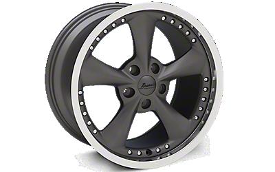 Matte Graphite Bravado Americana II Wheels 2010-2014