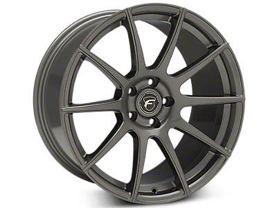 Gunmetal Forgestar CF10 Wheels<br />('15-'20 Mustang)