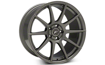 Gunmetal Forgestar CF10 Monoblock Wheels 2005-2009