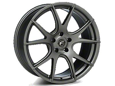 Gunmetal Forgestar CF5V Monoblock Wheels<br />('05-'09 Mustang)