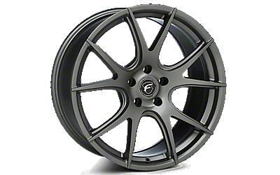 Gunmetal Forgestar CF5V Monoblock Wheels 2010-2014