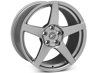 Gunmetal Forgestar CF5 Wheels<br />('15-'20 Mustang)