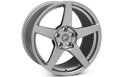 Gunmetal Forgestar CF5 Wheels 2005-2009