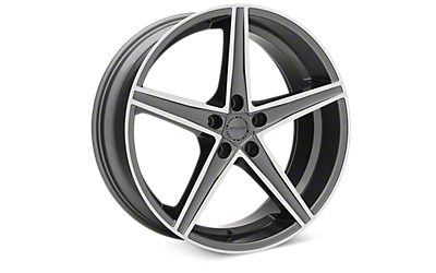 Gunmetal Machined Sporza Topaz Wheels 2005-2009