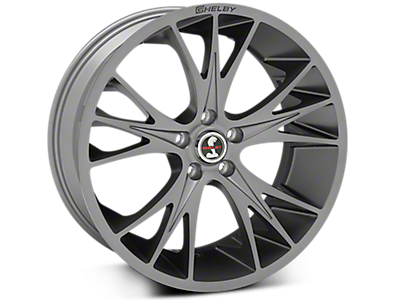 Gunmetal Shelby CS1 Wheels<br />('15-'21 Mustang)