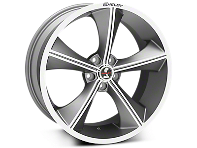 Gunmetal Shelby CS70 Wheels<br />('05-'09 Mustang)