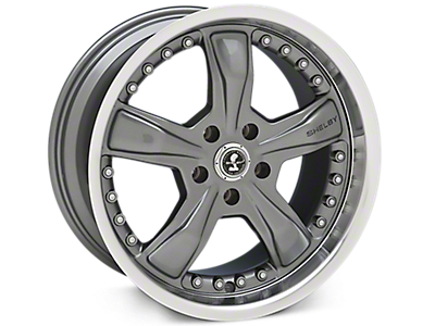 Gunmetal Shelby Razor Wheels<br />('15-'20 Mustang)