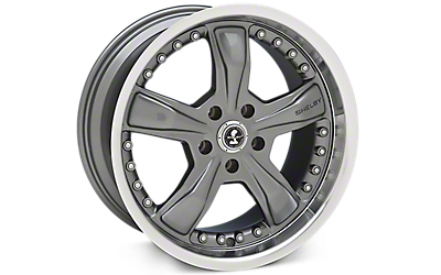 Gunmetal Shelby Razor Wheels 2005-2009