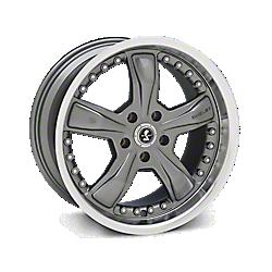 Gunmetal Shelby Razor Wheels 2005-2009