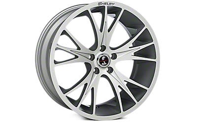 Hyper Silver Shelby CS1 Wheels 2005-2009