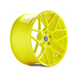 Hyper Yellow HRE Flowform FF01 Wheels (10-14)