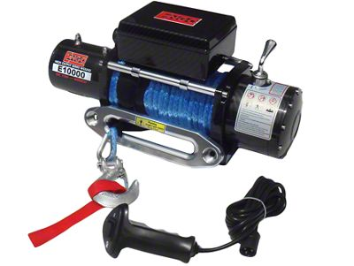 Engo 10,000 lb. 12 Volt Electric Winch with Synthetic Rope