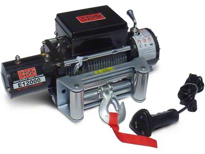 Engo 12,000 lb. 12 Volt Electric Winch