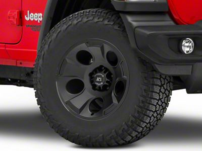Rugged Ridge Drakon Satin Black Wheel - 17x9 (18-19 Jeep Wrangler JL)