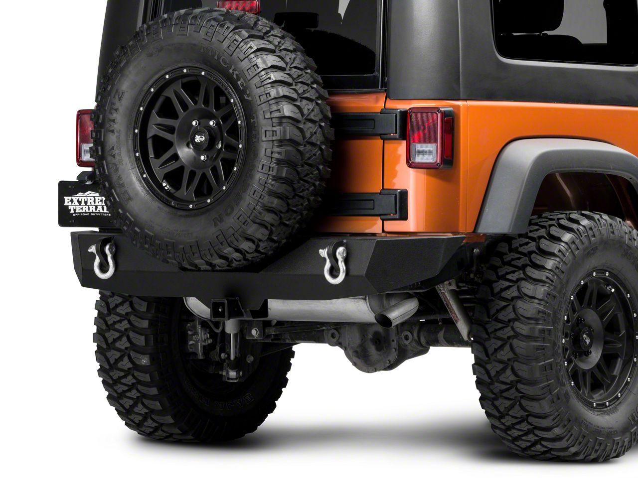 Barricade Trail Force HD Rear Bumper (07-18 Jeep Wrangler JK)