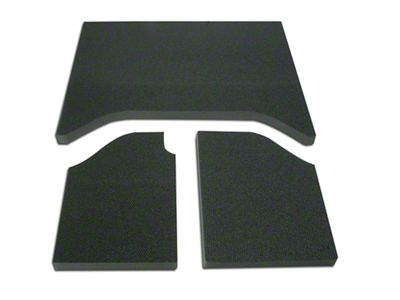 Boom Mat Sound Deadening Headliner - Black (07-10 Jeep Wrangler JK 2 Door)