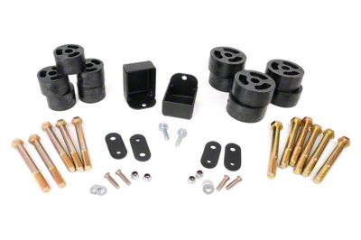 Rough Country 1.25 in. Body Lift w/o Shocks (87-95 Jeep Wrangler YJ w/Manual Transmission)