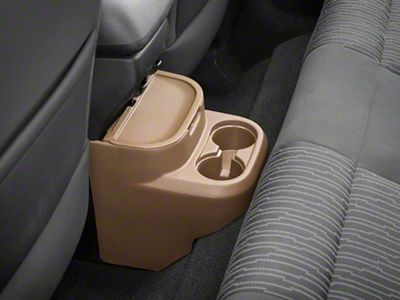 Rugged Ridge Rear Seat Organizer - Tan (11-18 Jeep Wrangler JK 2 Door)