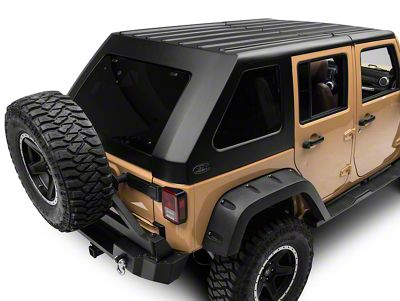 Wild Boar Fastback Targa Top (07-18 Jeep Wrangler JK 4 Door)