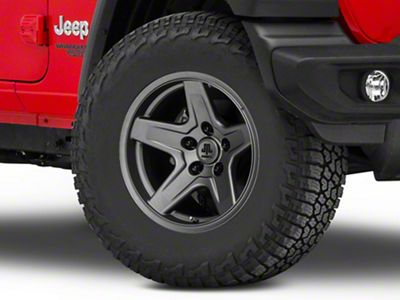 Mammoth Boulder Charcoal Wheel - 17x9 (18-19 Jeep Wrangler JL)