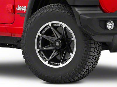Mammoth Type 88 Black Wheel - 17x9 (18-19 Jeep Wrangler JL)