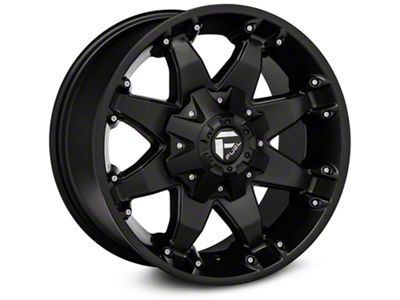 Fuel Wheels Octane Matte Black Wheel - 17x8.5 (07-18 Jeep Wrangler JK; 2018 Jeep Wrangler JL)