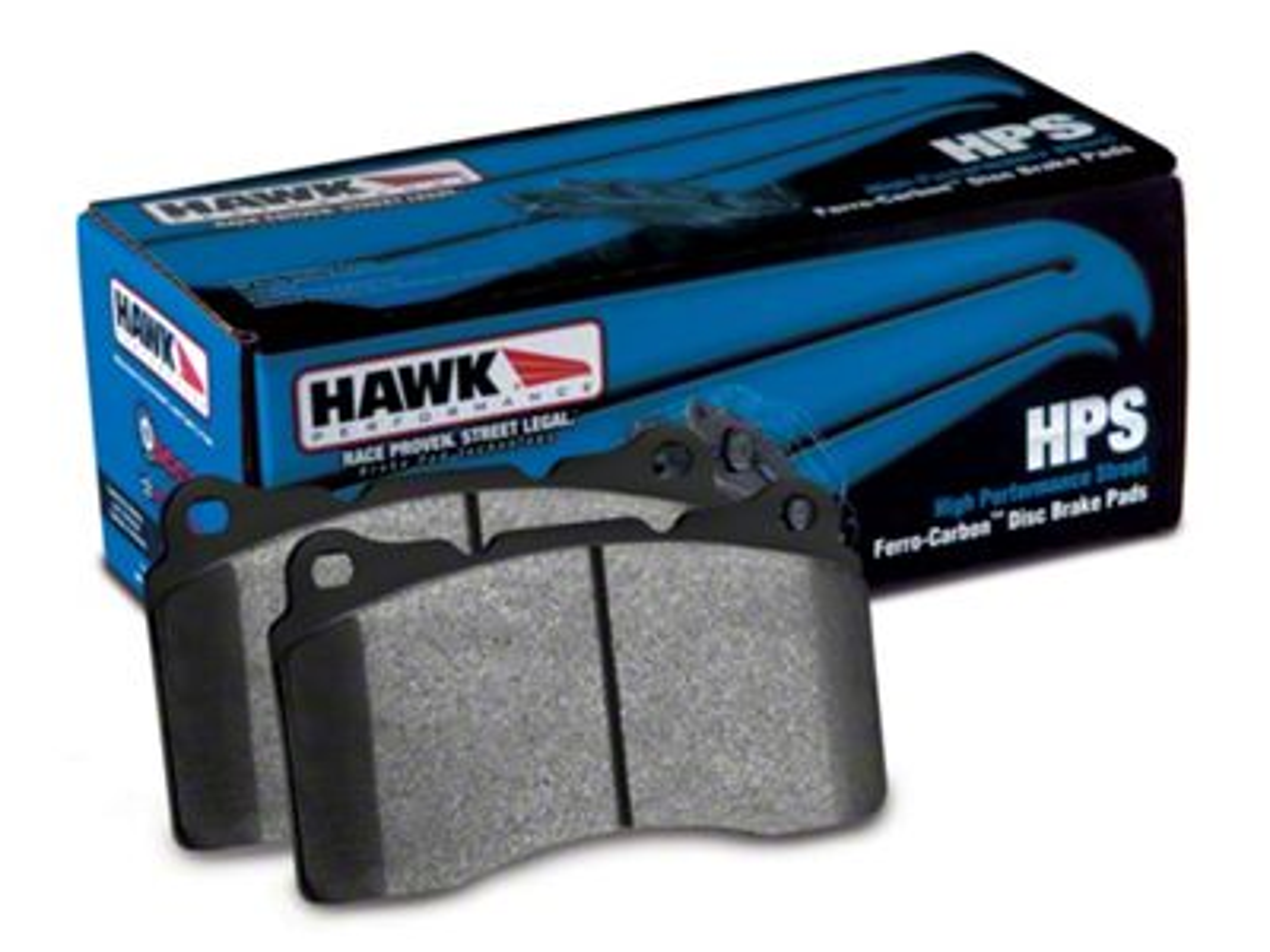 Hawk Performance HPS Brake Pads - Rear Pair (07-18 Jeep Wrangler JK)