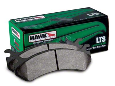 Hawk Performance LTS Brake Pads - Front Pair (90-06 Jeep Wrangler YJ & TJ)