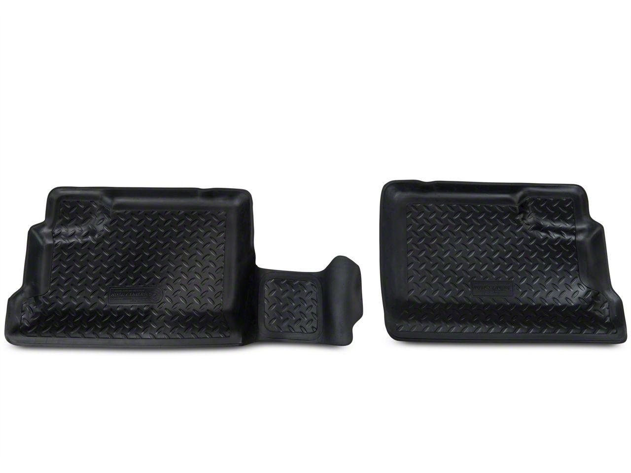 Husky Rear Floor Liner (07-10 Jeep Wrangler JK 4 Door)