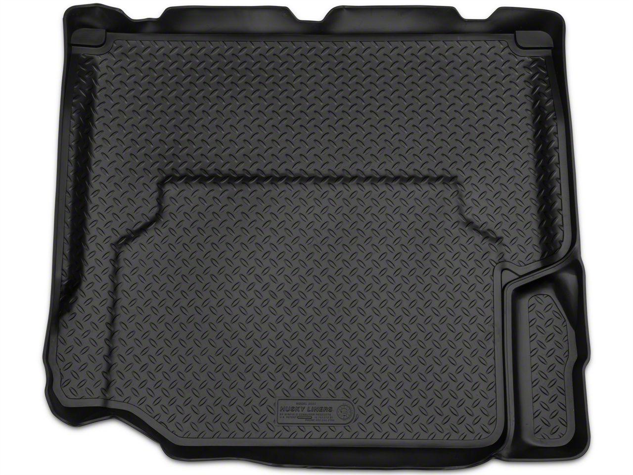 Husky Classic Cargo Liner - Black (07-10 Jeep Wrangler JK 4 Door)