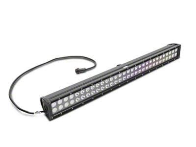 KC HiLiTES 30 in. C-Series C30 LED Light Bar w/ Hood Mounting Brackets (07-18 Jeep Wrangler JK)