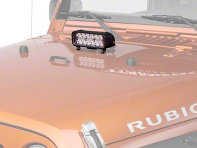 Vision X 8 in. Xmitter LED Light Bar - Euro Beam