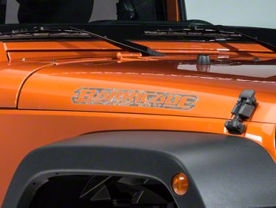 Barricade Hood Decal - Real Tree (87-18 Jeep Wrangler YJ, TJ, JK & JL)