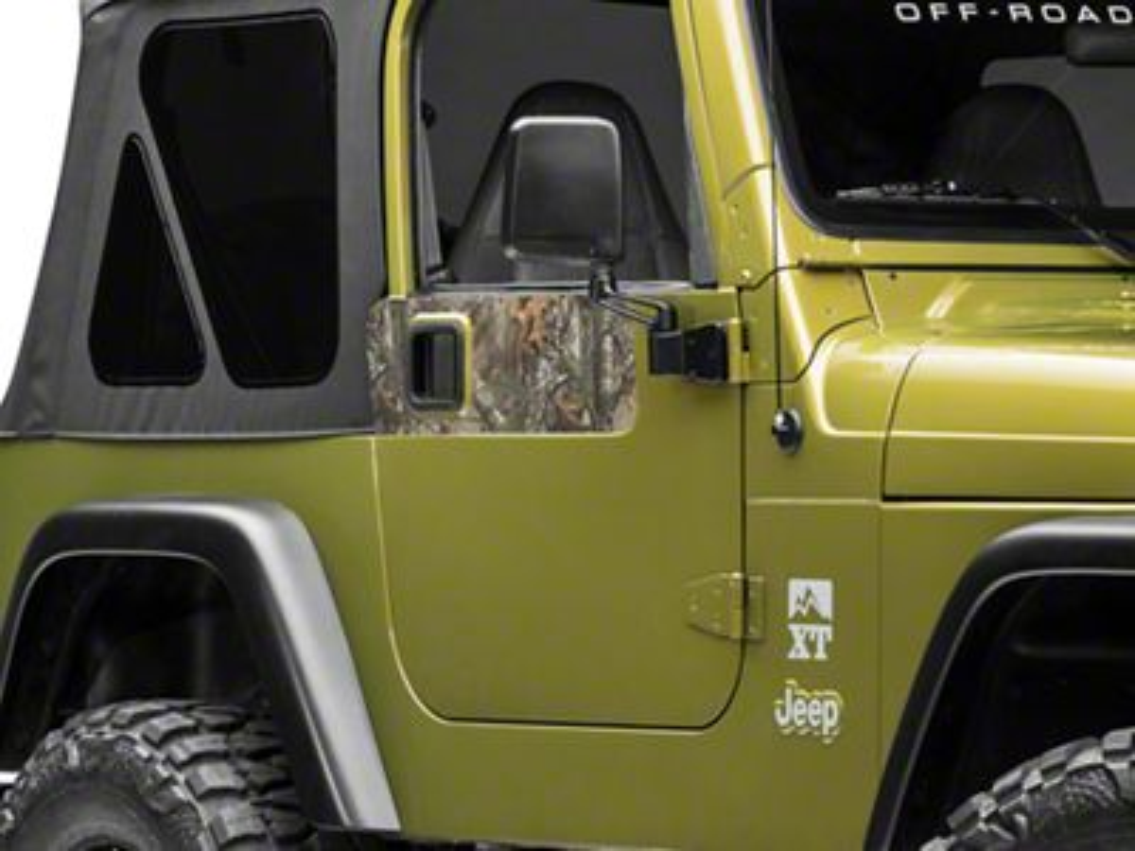 XT Graphics Door Accents - Real Tree (97-06 Jeep Wrangler TJ)